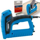 Draper Mains Electric Stapler/Nailer/Tacker Gun Kit & Extra 14mm Staples (1000)