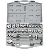 "Draper 16256 SD26AMA/B 3/4"" Sq. Dr. MM/AF Combined Socket Set 26 Piece"