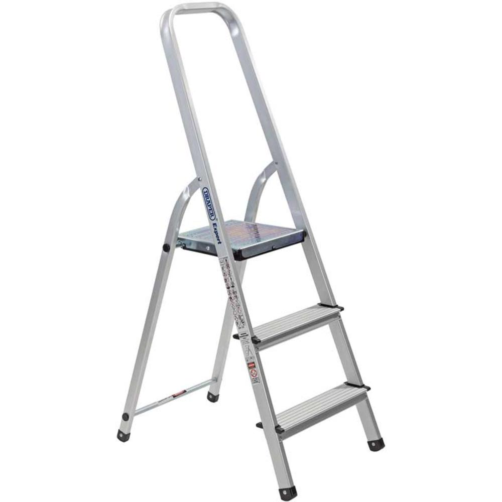 Draper 16823 SL3A Expert 3 Step Aluminium Ladder to EN131