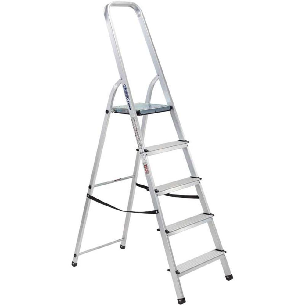 Draper 16825 SL5A Expert 5 Step Aluminium Ladder to EN131
