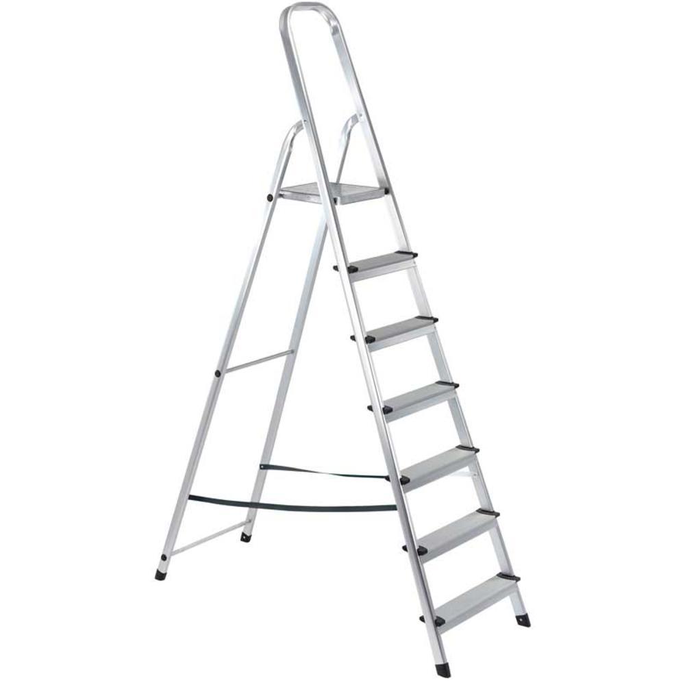 Draper 16826 SL7A 7 Step Aluminium Ladder to EN131