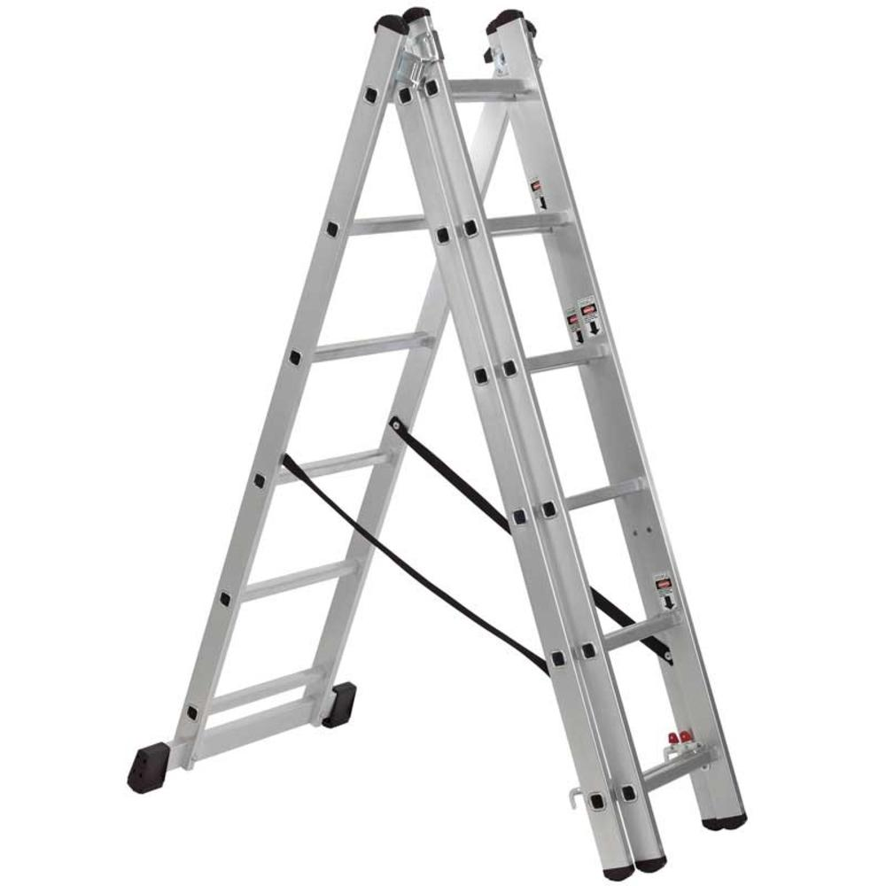 Draper 17204 CL6A Expert Combination 6 Step Aluminium Ladder to EN131