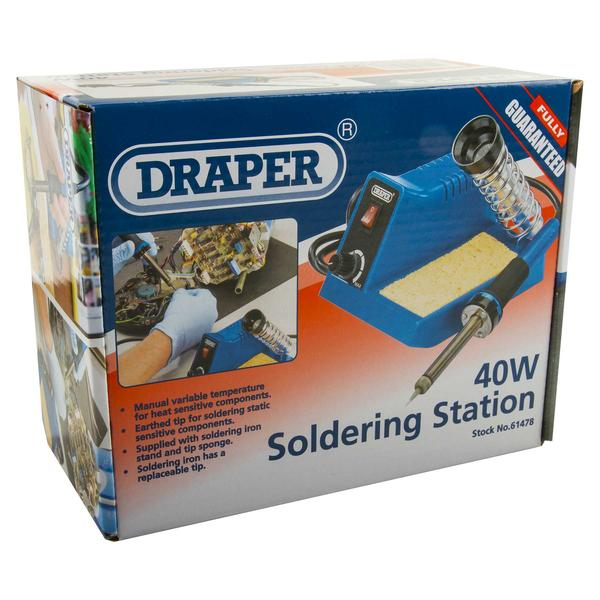 Draper 40W Soldering Station with Universal Clamping Kit Thumbnail 11
