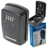 Silverline 309218 Key Safe Wall Mounted