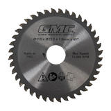 GMC TCT Saw Blade 110 x 22.2 x 40T GTS1500 for GTS1500 Plunge Saw