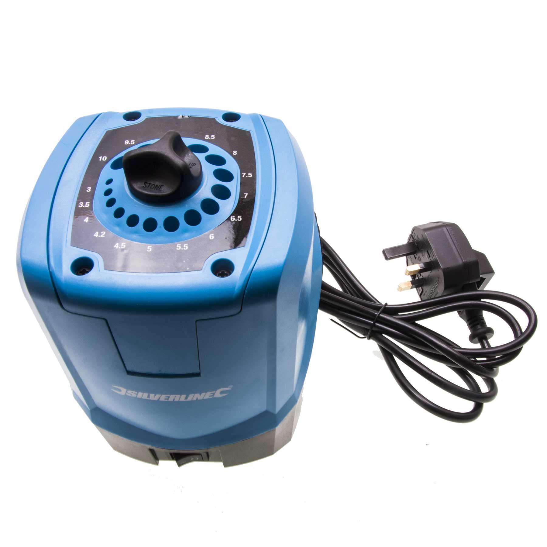 Silverline 312279 DIY 95W Drill Bit Sharpener | Silverline 312279 ...