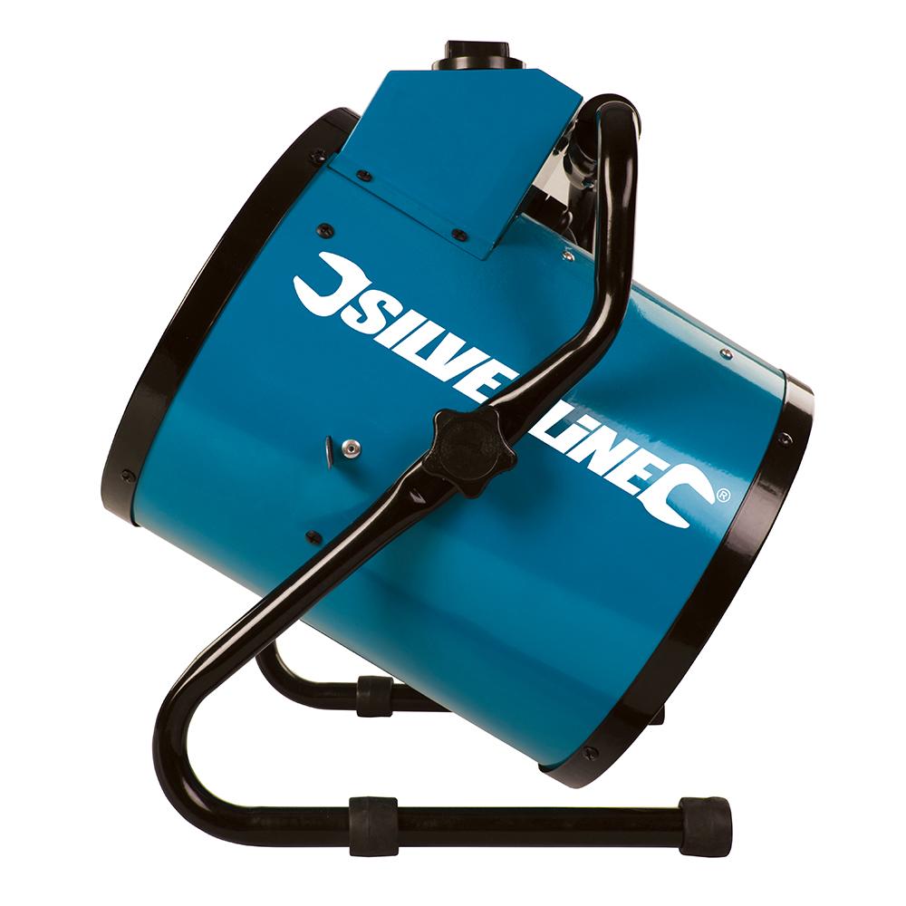 Silverline 300316 Diy 2kw Workshop Electric Fan Heater Thumbnail 2