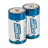 Powermaster 408718 C-Type Super Alkaline Battery LR14 2pk