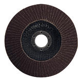 Silverline 282587 Aluminium Oxide Flap Disc 125mm 80 Grit
