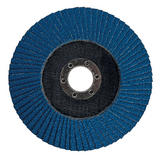 Silverline 282588 Zirconium Flap Disc 125mm 40 Grit