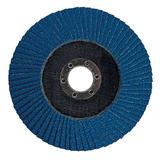 Silverline 282588 Zirconium Flap Disc 125mm 40 Grit