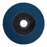 Silverline 427696 Zirconium Flap Disc 125mm 60 Grit