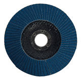 Silverline 245102 Zirconium Flap Disc 125mm 80 Grit