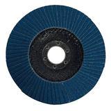 Silverline 245102 Zirconium Flap Disc 125mm 80 Grit