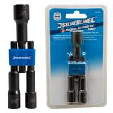 "Silverline 869395 Magnetic Nut Driver Set (3 Piece) 1/4"", 5/16"" & 3/8"""