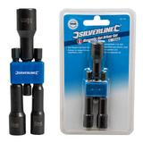 Silverline 987785 Magnetic Nut Driver Set (3 Piece) 6, 8 and 10mm
