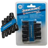 Silverline 855189 Magnetic Nut Driver Set (9 Piece) 5mm-12mm
