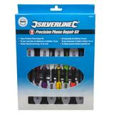 Silverline 850276 Precision Phone Repair Kit (16 Piece)