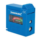 Silverline 918147 Compact Battery Tester