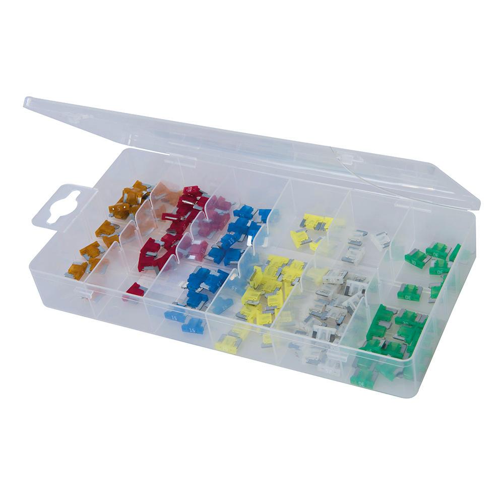 Silverline 361371 Micro Fuse Set (120 Piece)
