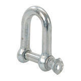 Fixman 711078 Galvanised Commercial D-Shackle 10pk
