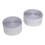 Fixman 316144 Hook & Loop Tape White Self-Adhesive 2pce