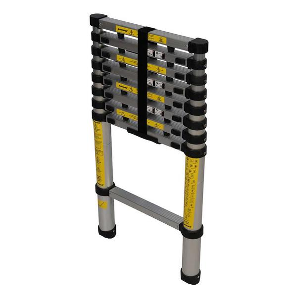 Silverline 452123 Telescopic Aluminium Ladder Thumbnail 7