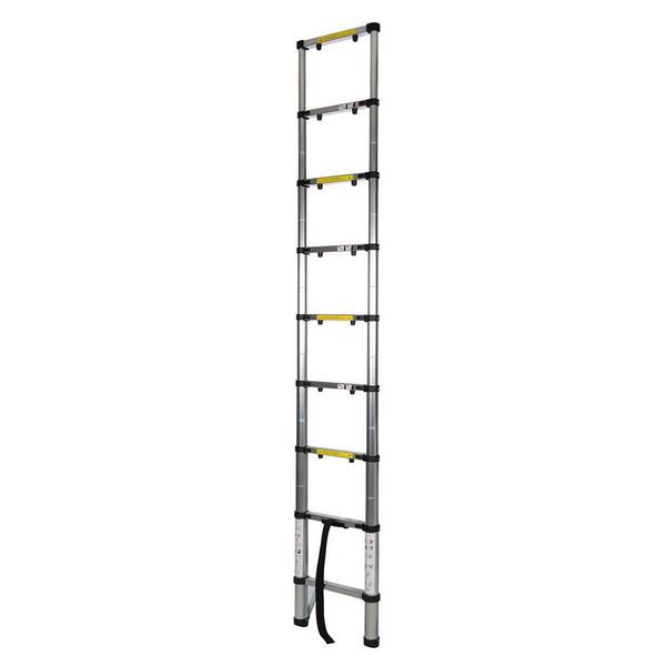 Silverline 452123 Telescopic Aluminium Ladder Thumbnail 2