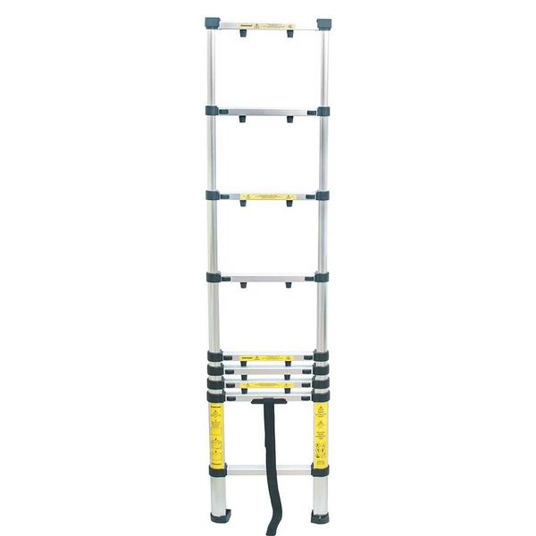 Silverline 452123 Telescopic Aluminium Ladder Thumbnail 3