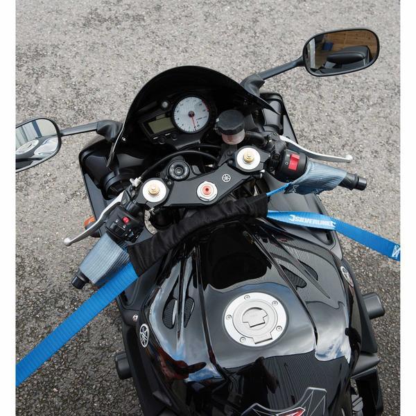 Silverline 341673 Motorbike Handlebar Tie-Down Straps (2 Pack) Thumbnail 3