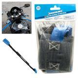 Silverline 341673 Motorbike Handlebar Tie-Down Straps (2 Pack)