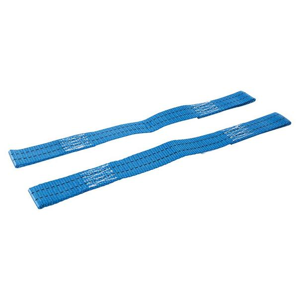 2 x Silverline 922260 Tie-Down Securing Loops 450mm Thumbnail 2