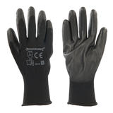 Silverline 589144 Black Palm Gloves