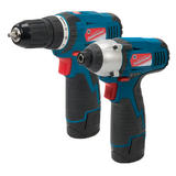 Silverline 347862 Silverstorm 10.8V Twin Pack Drill Driver & Impact Driver