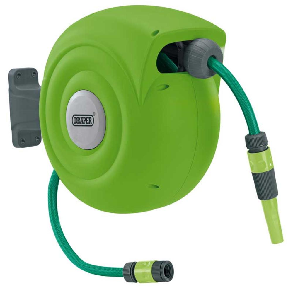 Draper 15046 Rgh20 Retractable Garden Hose Reel 20m
