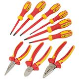 Draper 86013 700SET1 VDE Fully Insulated Plier & Screwdriver Set (9 Pc)
