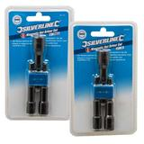 Silverline Magnetic Nut Driver Kit - 987785 Metric and 869395 Imperial