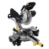 GMC 378634 1800W Double Bar Sliding Mitre Saw 210mm