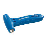 Silverline 395235 Emergency Hammer & Belt Cutter