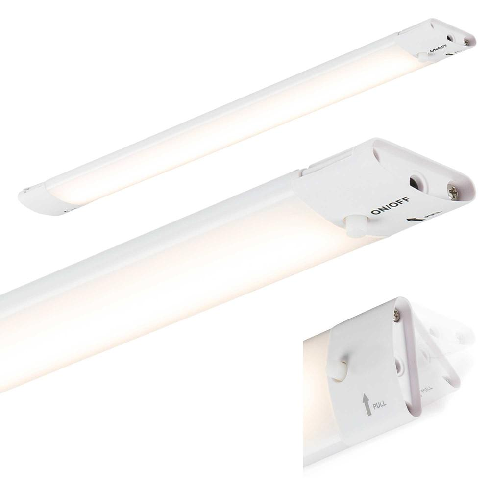 Knightsbridge Ucled13 Led Under Cabinet Striplight Cool White: Knightsbridge 24V 4W LED Linkable Under Cabinet Light