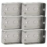 Knightsbridge MC8900 Metal Clad Double Box (Pack of 6)