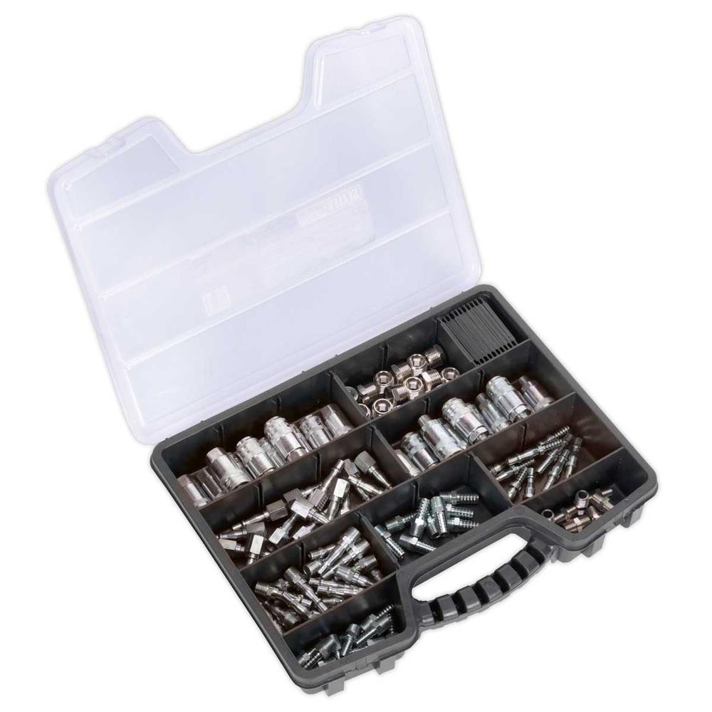 Sealey AC110K Air Coupling Kit (110 Piece)