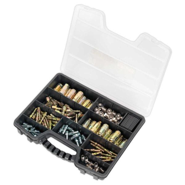 Sealey AC110K Air Coupling Kit (110 Piece) Thumbnail 2