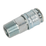 """Sealey AC78 Coupling Body Male 1/2"""" BSPT"""