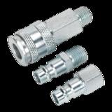"Sealey ACH60 Air Tool Coupling Kit 1/4"" BSP High Flow"