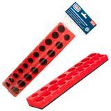 "Sealey AK27087 Socket Holder Magnetic 1/2"" Sq Drive Capacity 19 Sockets"
