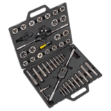 Sealey AK303IMP Tap & Die Set (45 Piece) Split Dies Imperial