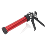 Sealey AK3801R Caulking Gun for Sausage Packs & Cartridges 230mm Red