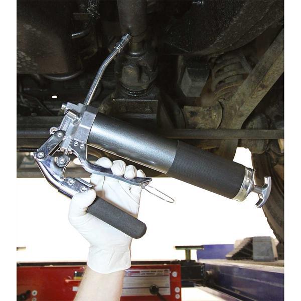 Sealey AK48 Grease Gun 2-Way Operating 3-Way Fill Heavy-Duty Thumbnail 2