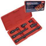 "Sealey AK5514 Impact Adaptor & Extension Bar Set 6pc 1/2"" Square Drive"